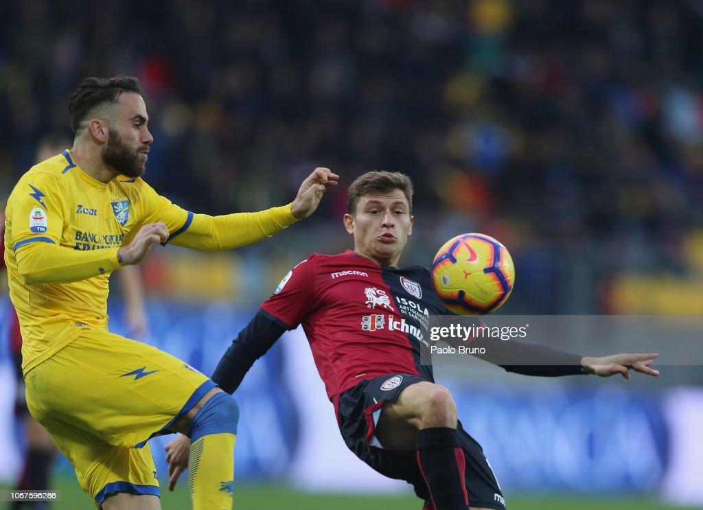 Frosinone Calcio v Cagliari - Serie A : News Photo