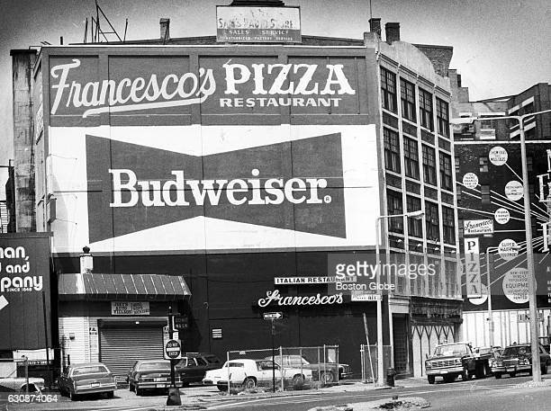 Francesco's Restaurant stands on N Washington Street in Boston's North End on Sept 7 1983 The FBI arrested Boston's reputed Mob boss Gennaro J...