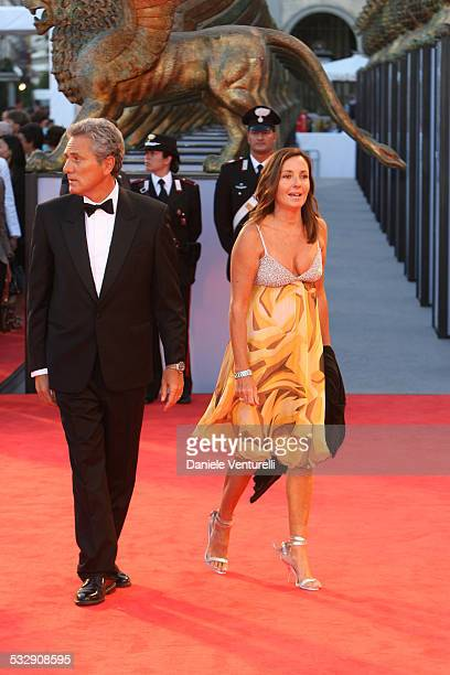 Franceso Rutelli and Barbara Palombelli during The 63rd International Venice Film Festival The Black Dahlia Premiere Arrivals at Palazzo Del Cinema...