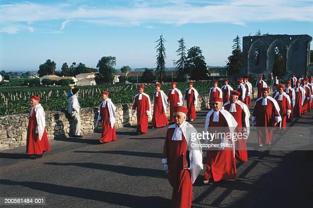 France,St. Emilion,Bordeaux,Wine Harvest Festival (Feste de la Jurade)