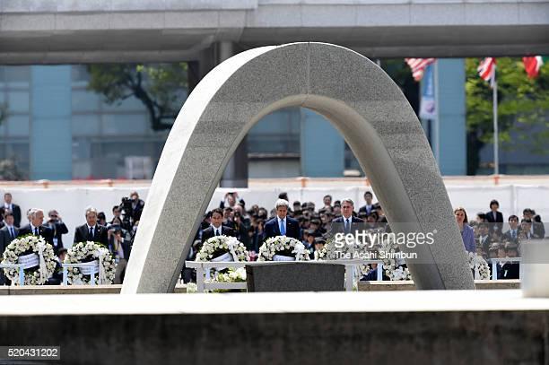 Franch Foreign Minister JeanMarc Ayrault Italian Foreign Minister Paolo Gentiloni German Foreign Minister FrankWalter Steinmeier Japanese Foreign...