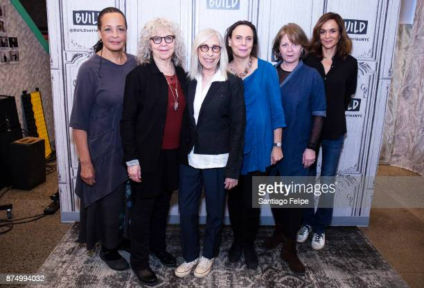Franchelle Stewart Kathryn Grody Susan Miller Emily Mann Ellen Parker and Polly Draper attend Build Presents to discuss 20th Century Blues at Build...