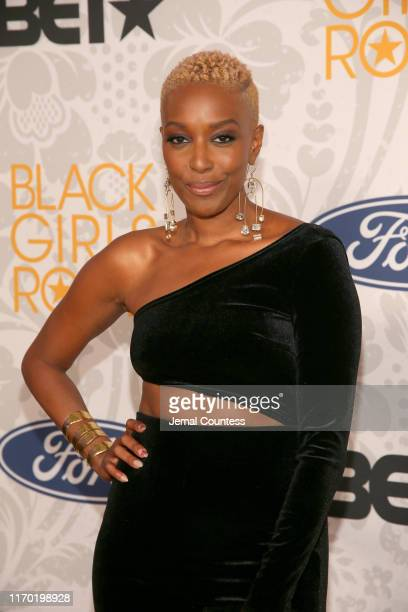 Franchesca Ramsey attends Black Girls Rock 2019 Hosted By Niecy Nash at NJPAC on August 25, 2019 in Newark, New Jersey.