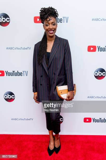 Franchesca Ramsey attends the ABC Tuesday night block party event at Crosby Street Hotel on September 23, 2017 in New York City.