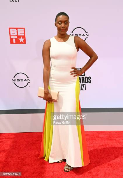 Franchesca Ramsey attends the BET Awards 2021 at Microsoft Theater on June 27, 2021 in Los Angeles, California.