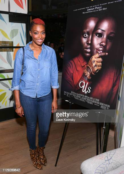 """Franchesca Ramsey attends the Universal """"US"""" First Screening at the Whitby Hotel on March 8, 2019 in New York City."""