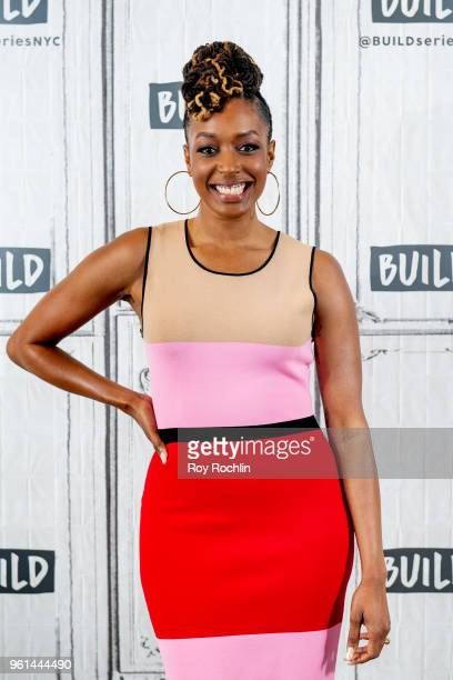 Franchesca Ramsey discusses 'Well That Escalated Quickly Memoirs and Mistakes of an Accidental Activist' with the Build Series at Build Studio on May...