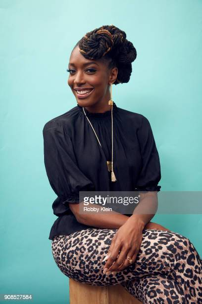 Franchesca Ramsey from the film 'Franchesca' poses for a portrait in the YouTube x Getty Images Portrait Studio at 2018 Sundance Film Festival on...
