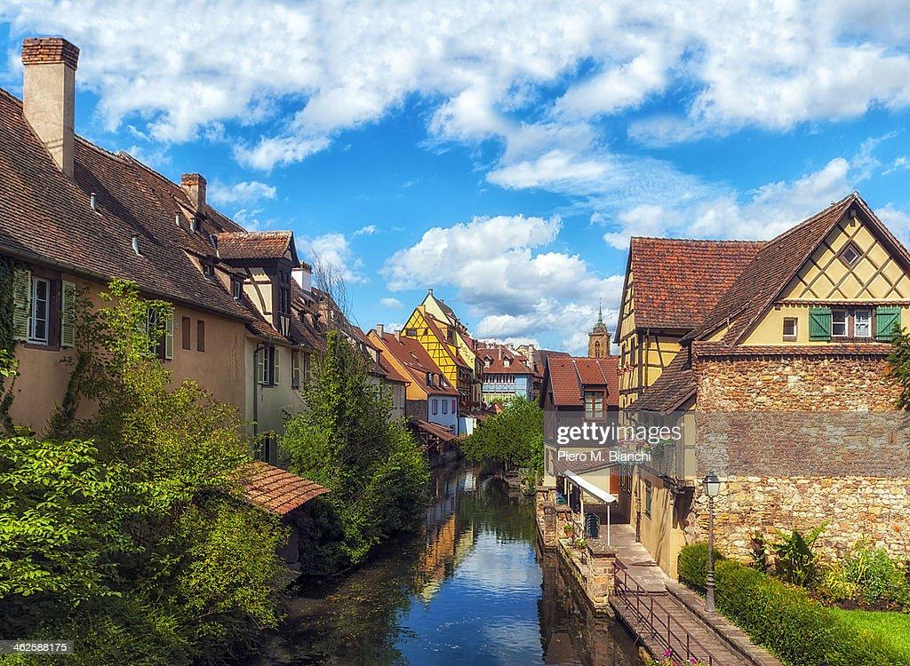 Francia, Colmar, Petite Venise : Stock Photo