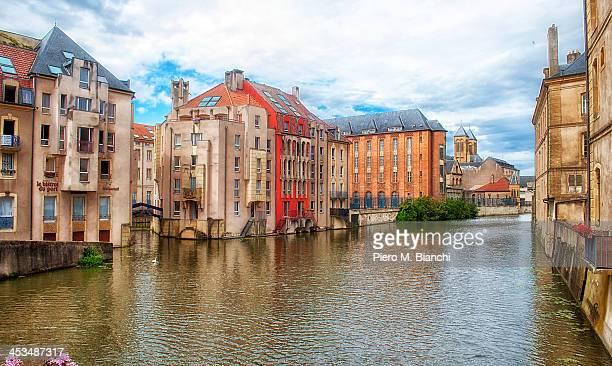 Francia, Metz, scorcio fluviale