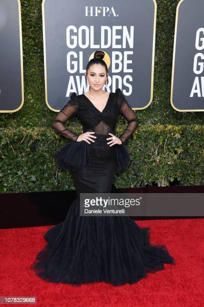 Francia Raisa Almendarez attends the 76th Annual Golden Globe Awards at The Beverly Hilton Hotel on January 6 2019 in Beverly Hills California