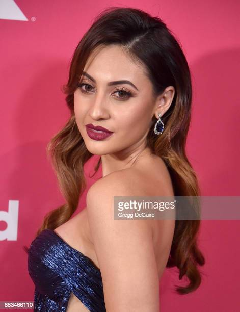 Francia Raisa arrives at the Billboard Women In Music 2017 at The Ray Dolby Ballroom at Hollywood Highland Center on November 30 2017 in Hollywood...