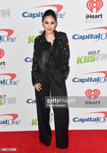 Francia Raisa attends 1027 KIIS FM's Jingle Ball 2017 presented by Capital One at The Forum on December 1 2017 in Inglewood California