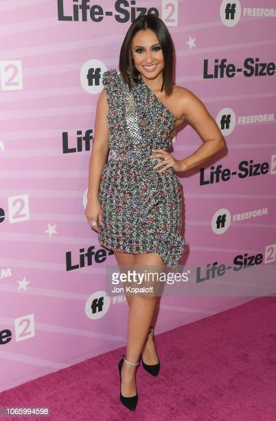 Francia Raisa attends Life Size 2 World Premiere at Hollywood Roosevelt Hotel on November 27 2018 in Hollywood California