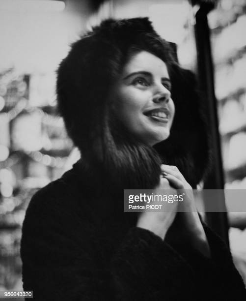 Francine Breaud en janvier 1956 France