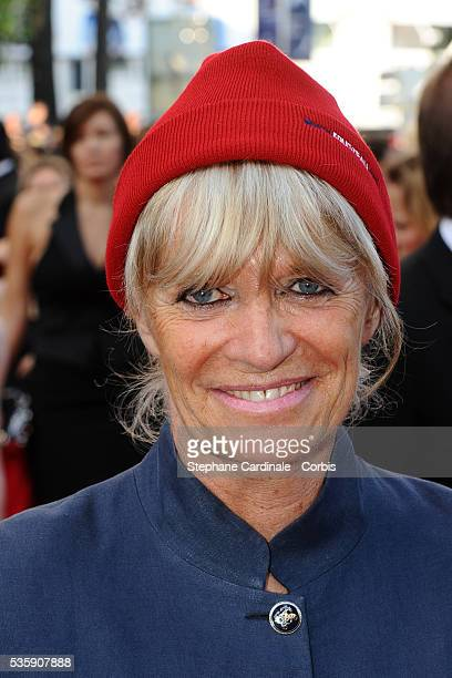 Francine Cousteau attends the premiere for 'The Exodus Burnt By The Sun 2' during the 63rd Cannes International Film Festival