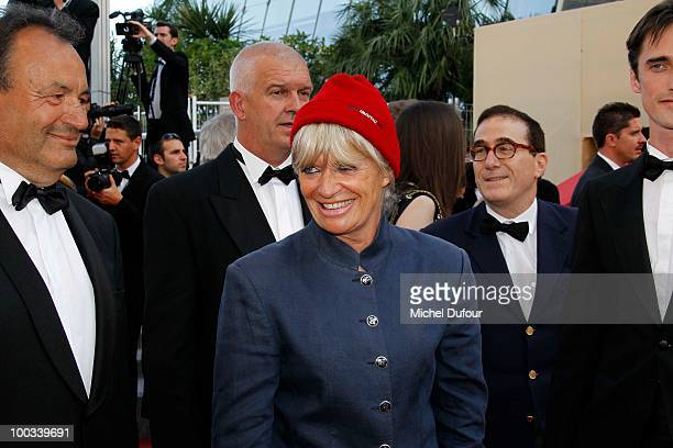 Francine Cousteau attends the premiere of 'The Exodus Burnt By The Sun' Premiere at the Palais des Festivals during the 63rd Annual Cannes Film...