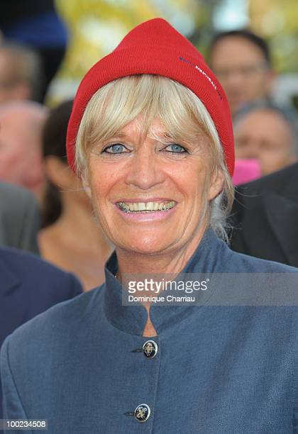 Francine Cousteau attends the The Exodus Burnt By The Sun 2 Premiere held at the Palais des Festivals during the 63rd Annual International Cannes...