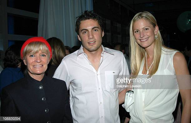 Francine Cousteau Fabian Basabe and Annelise Peterson