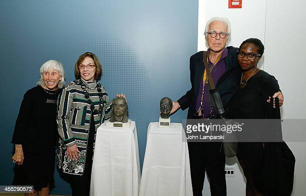 Francine, Horn Marsha Horman, John Guare and Janine Nabers 8th Annual Yale Drama Series Awards Ceremony at Lincoln Center Theater on September 11,...