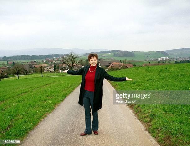 Francine Jordi Homestory Berner Oberland Schweiz Kulisse Panorama