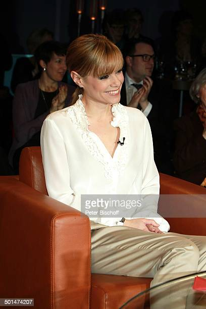 "Francine Jordi , ""NDR-Talkshow"", Hamburg, Deutschland, Europa, Studio, Talk-Show, Promi BB, CD; P.-Nr.: 030/2014, ;"