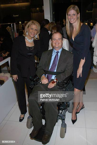 Francine LeFrak Henry Stifel and Alexandra Reeve attend Kickoff Party for the CHRISTOPHER DANA REEVE FOUNDATION's A MAGICAL EVENING Gala at Di Modolo...