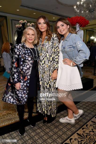 Francine Lefrak Lola KarimovaTillyaeva and Mariam Tillyaeva attend Fashion 4 Development's 9th Annual Official First Ladies Luncheon at The Pierre...