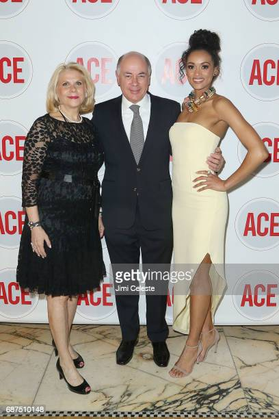 Francine LeFrak Rick Friedberg and Kara McCullough attend the 2017 ACE Gala at Capitale on May 23 2017 in New York City