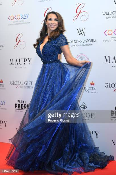 Global gift gala getty images francine lewis attends the global gift gala edinburgh at the caledonian hotel on may 17 2017 negle Images