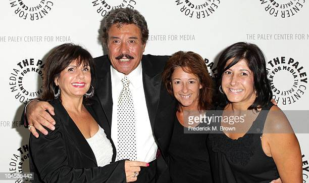 Francine Orlando recording artist Tony Orlando and his guest attend The Paley Center for Media salute to Tony Orlando's 50 years in show business on...