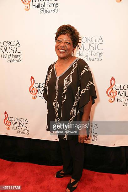 Francine Reed attends the 36th annual Georgia Music Hall of Fame Awards at the Georgia World Congress Center on October 11 2014 in Atlanta Georgia