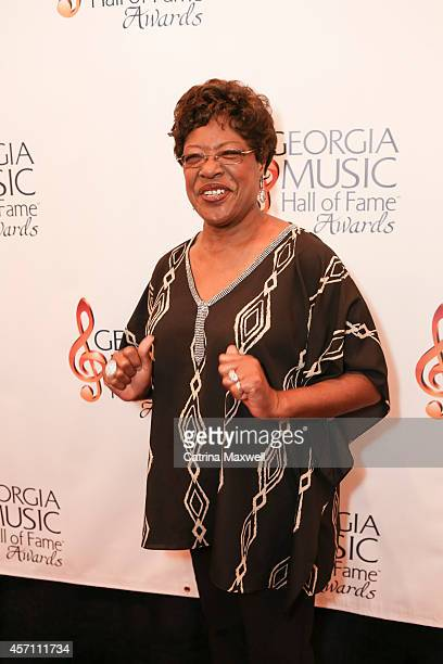 Francine Reed attends the 36th annual Georgia Music Hall of Fame Awards>> at the Georgia World Congress Center on October 11 2014 in Atlanta Georgia
