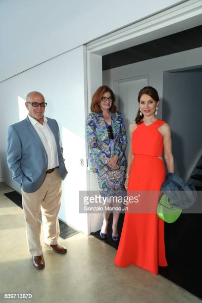 Francis Battista Elizabeth Jensen and Jean Shafiroff attend the John Bradham and Jean Shafiroff Host Cocktails for Best Friends Animal Society at...
