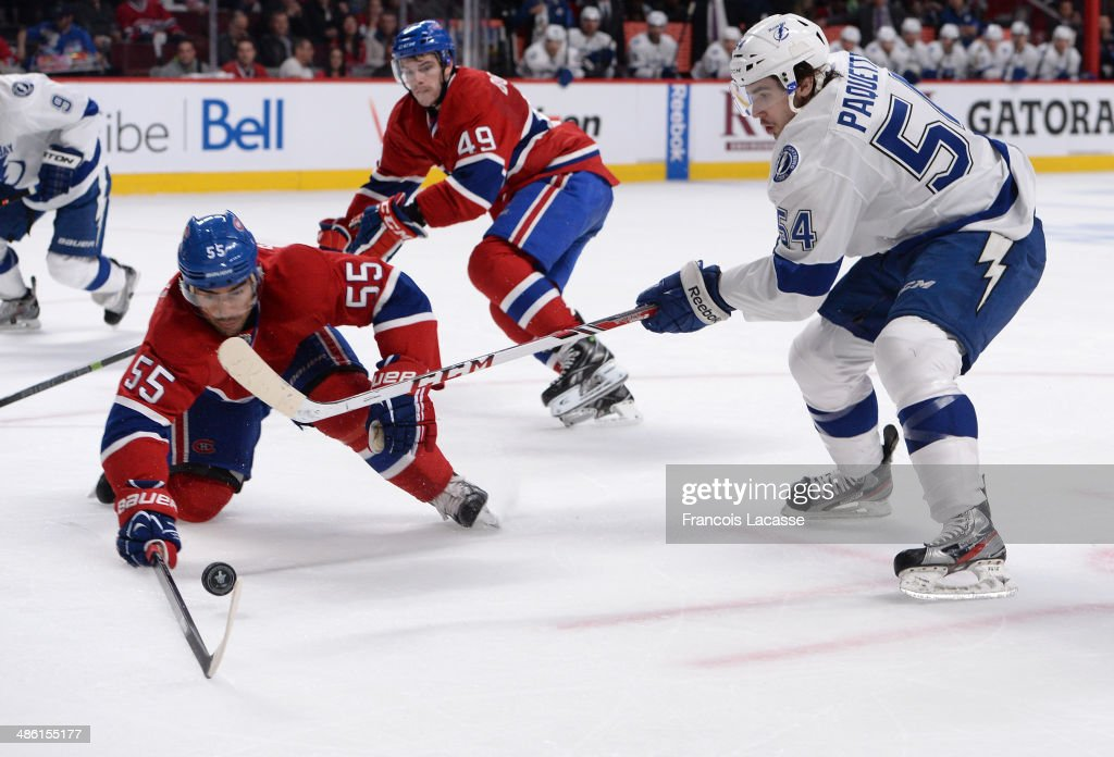 Tampa Bay Lightning v Montreal Canadiens - Game Four