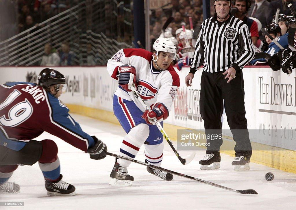 Montreal Canadiens vs Colorado Avalanche - January 11, 2006