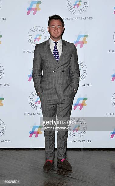 Francis Boulle attends the NCS 2013 launch on January 23 2013 in London England Tulisa Contostavlos was on hand to encourage teenagers to say yes to...
