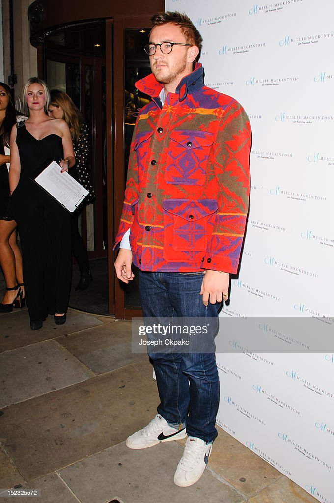 Francis Boulle from the cast of Made in Chelsea attends the launch of Millie Mackintosh's Nouveau lashes at Sanctum Soho on September 18, 2012 in London, England.