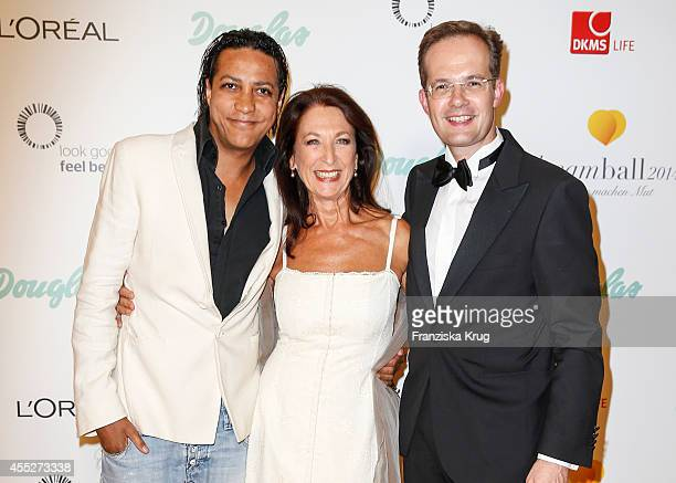 Francis C Winter Daniela Ziegler and Manfred Kroneder attend the Dreamball 2014 at the Ritz Carlton on September 11 2 Dan014 in Berlin Germany