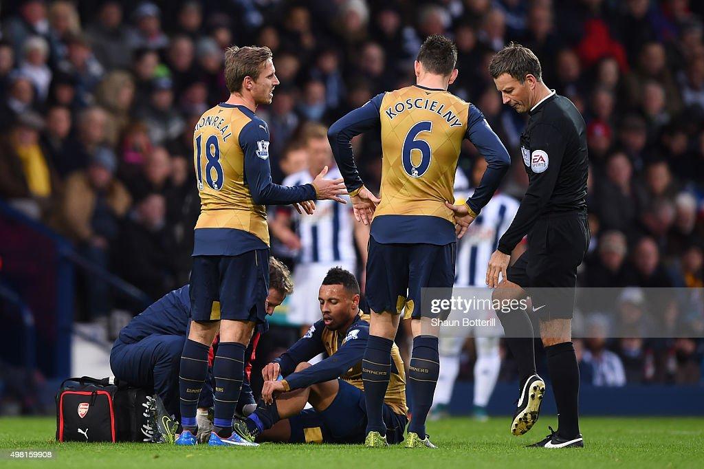 West Bromwich Albion v Arsenal - Premier League : News Photo