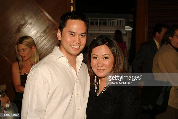 Francis de la Cruz and Melissa de la Cruz attend Launch Party for Melissa de la Cruz's new books BLUE BLOODS and SUNKISSED at Crush on May 9 2006 in...
