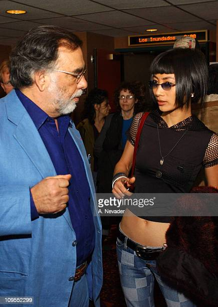 Francis Ford Coppola and Bai Ling during 45th San Francisco International Film Festival Second Screening for 'CQ' at AMC Kabuki 8 Theatres in San...