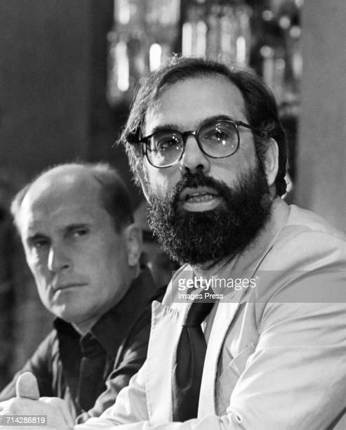 Francis Ford Coppola and Robert Duvall circa 1979 in New York City.