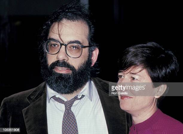Francis Ford Coppola and wife Eleanor during Foreign Films Party at Academy of Motion Pictures Arts Sciences in Los Angeles California United States