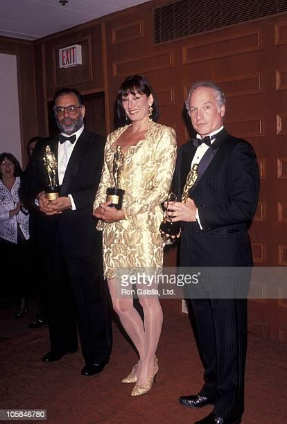 Francis Ford Coppola Anjelica Huston and Richard Dreyfus