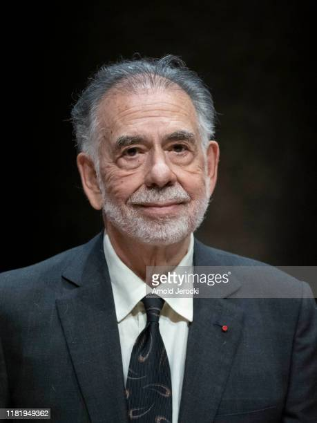 Francis Ford Coppola attends his tribute during the 11th Film Festival Lumiere on October 18, 2019 in Lyon, France.