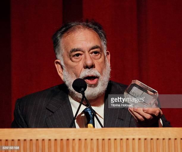 Francis Ford Coppola attends the 25th annual UCLA School of Theater Film And Television Film Festival's MFA Director's Spotlight honoring Francis...