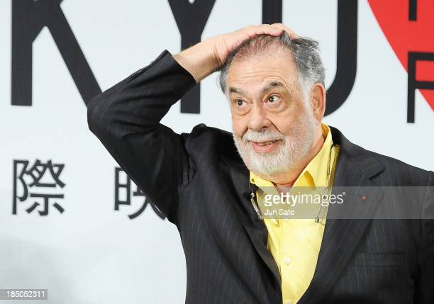 Francis Ford Coppola attends the 26th Tokyo International Film Festival Opening Ceremony at Roppongi Hills on October 17 2013 in Tokyo Japan