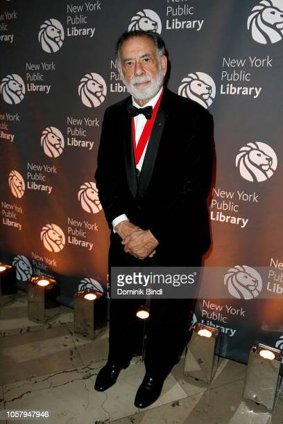 Francis Ford Coppola attends the New York Public Library 2018 Library Lions Gala at the New York Public Library at the Stephen A Schwarzman Building...