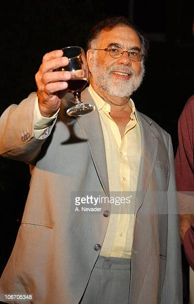 Francis Ford Coppola during Francis Ford Coppola Hosts Hands Across the Valley Towards a Community Without Hunger at NiebaumCoppola Estate Winery in...